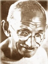 Mohandas K. Ghandi photo